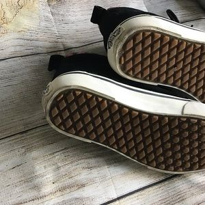 Vans Shoes - Vans Sk8-Hi Black Woven Chevron High Tops